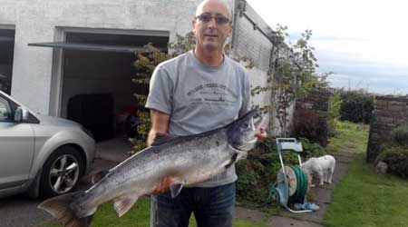 Salmon from River Eden